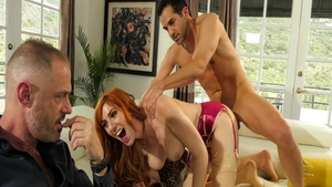 Big tits Lauren Phillips cowgirl sex XXX video