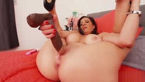 Female Sara Jay sex with toys video in HD
