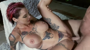 Slamming hard with Anna Bell and Anna Bell Peaks