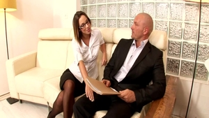 Hard slamming in company with perfect pawg Jada Stevens
