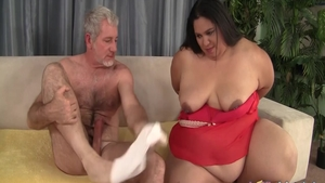 Chubby and SSBBW Lorelai Givemore anal