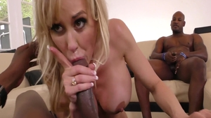 Good fuck with Brandi Love together with Audrey Bitoni