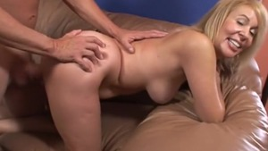 Incredible & hairy Erica Lauren getting smashed very nicely