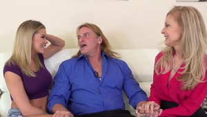 Stepmom Nina Hartley yoga