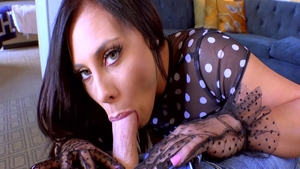 Young & passionate Gianna Nicole receiving facial