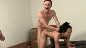 Very small tits arab whore being pounded by Rick Angel