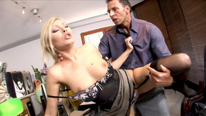 Donna Bell & Helena Sweet being pounded by Nick Lang