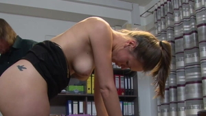 Deutsch in stockings doggy sex in HD