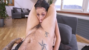 Hot girl Nicole Love has a taste for nailed rough