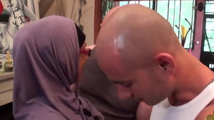 The best sex in company with arab babe
