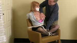 Busty blonde really likes BDSM HD