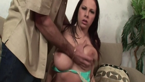 Big tits stepmom Gianna Michaels helps with nailed rough