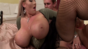 Beautiful Laura Orsolya getting smashed very nicely
