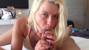 Pornstar Anikka Albrite POV creampie on vacation