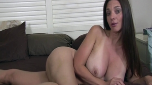 Large boobs buxom Mindi Mink quick ass pounded