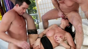 Rough group sex starring Eva Karera