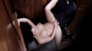 Busty Emma Leigh pussy eating sucking dick