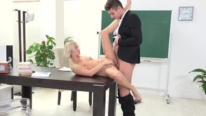 Erotic teacher pussy eating