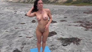 Fitness starring natural mature