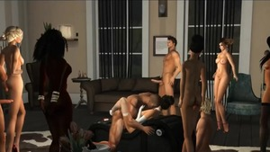 Orgy with asian stepmom