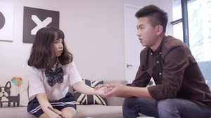 First time plowing hard starring asian teen