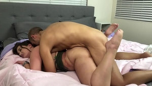 Cock sucking starring big ass brunette Gia Paige