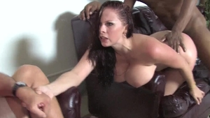 Large boobs Gianna Michaels has a thing for plowing hard