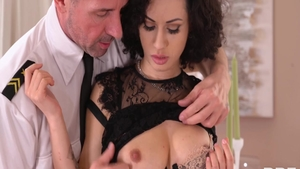 Pussy eating sex scene next to shaved hardcore Crystal Clear