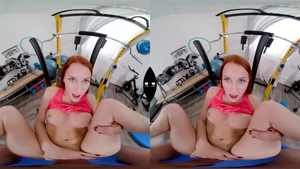 Russian redhead enjoys greatly plowing hard in HD