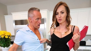 Curly haired mature Natasha Starr desires rough nailing
