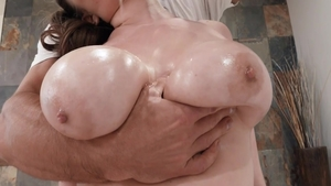 Beautiful Alex Chance stretching pussy eating
