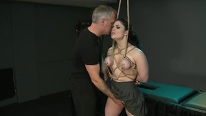 Huge boobs Lucia Love fun with toys