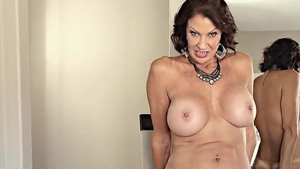 American Vanessa Videl dirty talk during interview in HD