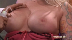 Muscle buxom Angel Vain has a taste for real fucking HD