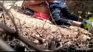 Group sex in the countryside between young Arabian teacher