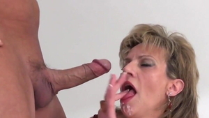 Getting facial large boobs british Lady Sonia