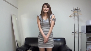 Threesome after interview asian