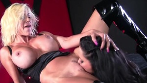 Playing with sex toys busty swedish Puma Swede