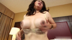 Fetish rough nailing in company with latina granny