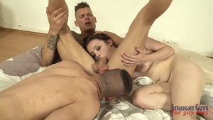 Bisexual loves MMF in HD