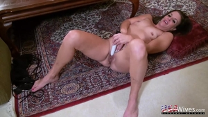MILF sex with toys