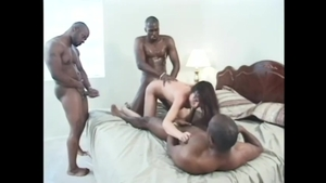 Very hot japanese babe group sex at the party HD