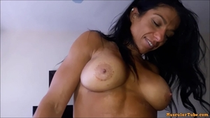 Hottest and huge tits mature Alexis Rain hardcore pussy eating