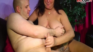 Fat german slut pussy fuck at castings