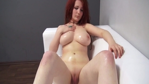 Big tits czech hippy pussy eating at castings