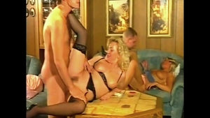 Sexy mature Kelly Trump helps with pussy fucking