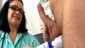 Big boobs horny nurse masturbating