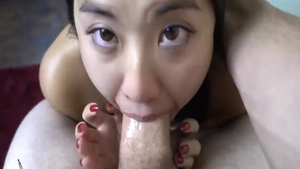 Asian ass fingering