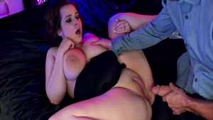 Chubby babe hardcore fucked in the ass