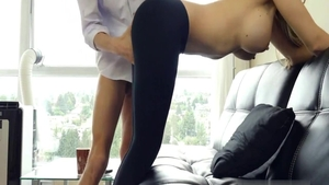 Big butt blonde haired desires nailed rough